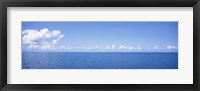 Framed Panoramic view of the ocean, Atlantic Ocean, Bermuda