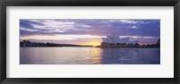 Framed Sunset over Sydney Opera House