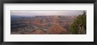 Framed High Angle View Of An Arid Landscape, Canyonlands National Park, Utah, USA