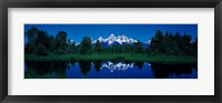 Framed Snake River & Teton Range Grand Teton National Park WY USA