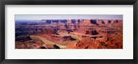 Framed River flowing through a canyon, Canyonlands National Park, Utah, USA