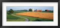 Framed Farm nr Mountville Lancaster Co PA USA
