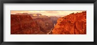 Framed Toroweap Point, Grand Canyon, Arizona (horizontal)
