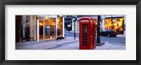 Framed Phone Booth, London, England, United Kingdom