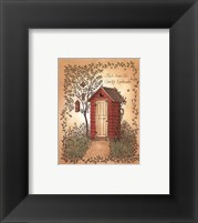 Country Landmark Framed Print