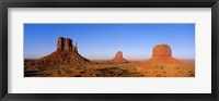 Framed Monument Valley Tribal Park, Navajo Reservation, Arizona, USA