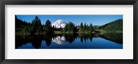 Framed Eunice Lake Mt Rainier National Park WA USA