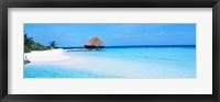 Framed Pier in The Maldives