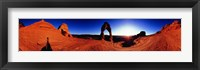 Framed Sunrise over Delicate Arch, Arches National Park, Utah