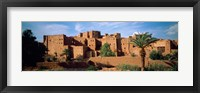 Framed Buildings in a village, Ait Benhaddou, Ouarzazate, Marrakesh, Morocco