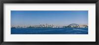 Framed Sydney Skyline, Australia