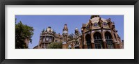 Framed Low angle view of a hospital, Hospital De Sant Pau, Barcelona, Spain