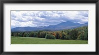 Framed Clouds over a grassland, Mt Mansfield, Vermont, USA
