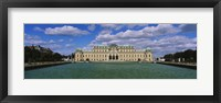 Framed Facade of a palace, Belvedere Palace, Vienna, Austria