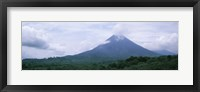 Framed Clouds over a mountain peak, Arenal Volcano, Alajuela Province, Costa Rica