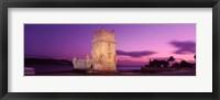 Framed Portugal, Lisbon, Belem Tower