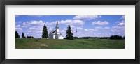 Framed USA, South Dakota, Church