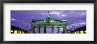 Framed Low Angle View Of The Brandenburg Gate, Berlin, Germany