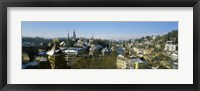 Framed High angle view of a city, Berne, Switzerland