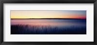 Framed Sunrise Lake Michigan WI USA