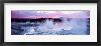 Framed Sunset, Norris Geyser Basin, Wyoming, USA