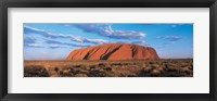 Framed Sunset Ayers Rock Uluru-Kata Tjuta National Park Australia
