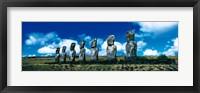 Framed Easter Island Chile