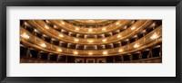 Framed Stavovske Theater, Prague, Czech Republic