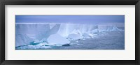 Framed Iceberg, Ross Shelf, Antarctica