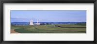 Framed Power Plant Energy