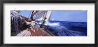 Framed Yacht Race