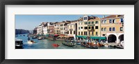 Framed High angle view of a canal, Grand Canal, Venice, Italy