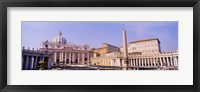 Framed Vatican, St Peters Square, Rome, Italy
