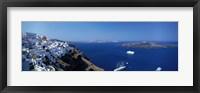 Framed Santorini Greece