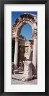 Framed Turkey, Ephesus, building facade