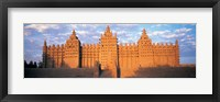 Framed Great Mosque Of Djenne, Mali, Africa