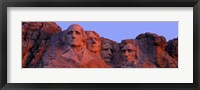 Framed Mount Rushmore, South Dakota