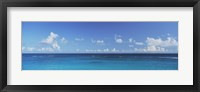 Framed Clouds over the ocean, Atlantic Ocean, Bermuda