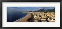 Framed High Angle View Of The Beach, Copacabana Beach, Rio De Janeiro, Brazil