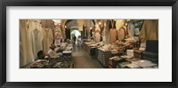 Framed Clothing stores in a market, Souk Al-Liffa, Tripoli, Libya