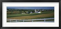 Framed Amish Farms, Pennsylvania