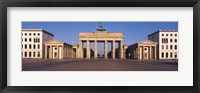 Framed Brandenburg Gate, Berlin, Germany