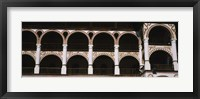 Framed Low angle view of a monastery, Rila Monastery, Bulgaria