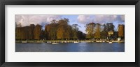 Framed Boats in a lake, Chateau de Versailles, Versailles, Yvelines, France