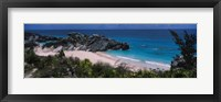 Framed High angle view of a beach, Bermuda