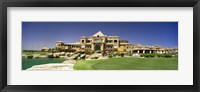 Framed Facade of a golf course, The Cascades Golf & Country Club, Soma Bay, Hurghada, Egypt