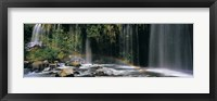 Framed Waterfall in Dunsmuir, Siskiyou County, California