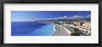 Framed Promenade Des Anglais, Nice, France
