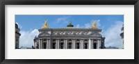 Framed Low angle view of an opera house, Opera Garnier, Paris, Ile-de-France, France
