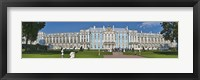 Framed Facade of Catherine Palace, St. Petersburg, Russia